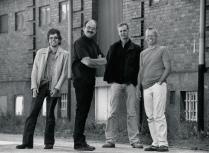 Cennet Jönsson Quartet Foto: Mats Persson
