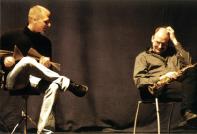 Peter Nilsson och Cennet Jönsson  Foto:Ninja Agborn