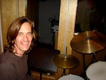 Jonas Johansen, drummer in Eliveation Photo: Sofia Feuer