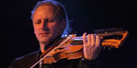 Zoltán Lantos, violinist in Stroman/Jönsson Project