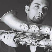 Marcelo Coelho, saxophonist in Un-x-pected Brazilian Project