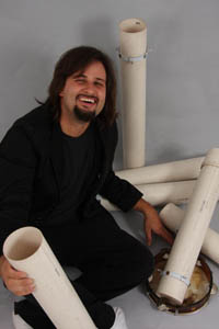 Emilio Martins, percussionist i Un-x-pected Brazilian Project