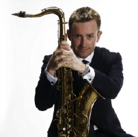 Tommy Smith, saxophonist in Loïc  Dequidt Quartet  Photo: Colin Robertson