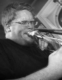 Mats Äleklint, trombonist i Peter Danemo Kapell