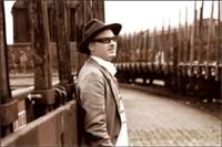 Nils Bo Davidsen, bassist in Krister Jonsson Trio. Photo: Ninja Agborn